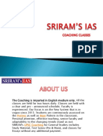 Best IAS Coaching in Delhi Sriram's IAS