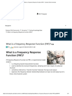 What is a Frequency Response Function (FRF)_ - Siemens PLM Community