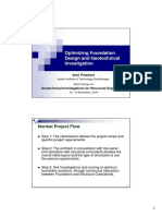 AP-Optimizing Foundation Design and Geotechnical I