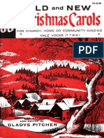 30 Old New Christmas Carols-TTBB