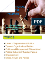 Organizational Politics and Power