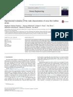 Ordonez-sanchez Et Al. - 2017 - Experimental Evaluation of the Wake Characteristics of Cross Fl Ow Turbine Arrays
