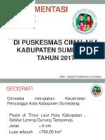 Implementasi Pis-pk Cimalaka 2017