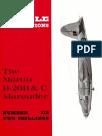 [Aircraft Profile 112] - Martin B-26B & C Marauder