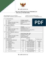 Formulir Informasi Jabatan