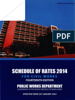 PWD Schedule of Rates 2014
