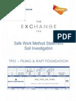 Bsg Tp01 Bsg Twk Sw 07003 Rev 1 Swms Soil Investigation