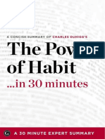 Based on a book by Charles Duhigg - The Power of Habit  in 30 minutes.epub