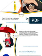 10 Principales Compagnies pour la Meilleure Assurance Habitation