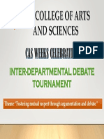 CAS Debate Tournament