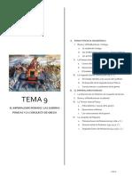 Tema 9 Las Guerras Púnicas y El Imperialismo Romano