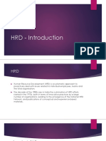 HRD Nature Scope and Functions