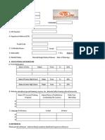 Application Form .xls
