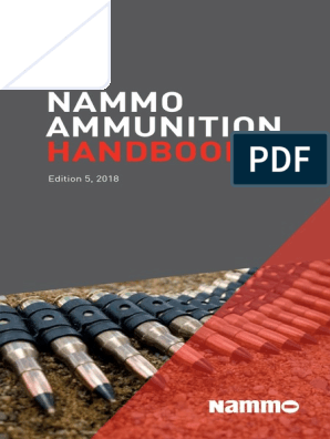 Nammo Ammo Handbook 2018 | Ammunition | Cartridge (Firearms)