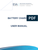 Mesa Battery Charger User Manual