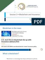 Blockchainand Insurance