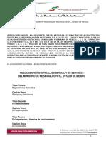 Reglamento Industrial, Comercial y de Servicios Del Municipio de Nezahualcoyotl