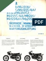 RD125B 200 Service Manual 2