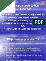 IV - Los Ecosistemas Marinos (1)
