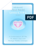 Advanced Usui Reiki for Levels 4 5 & 6