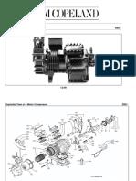 Copeland D8 Spare Parts List