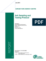Ash Sampling and Testing Protocol