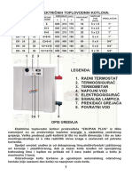 Tehnicke Karakteristike Elektro Kotao