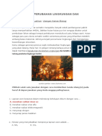 Soal Latihan Perubahan Lingkungan Dan Jwbn