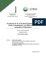 Evolucion Actividad Enzimatica Suelo Contaminado TFG2015