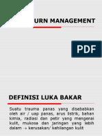 Acute Burn Management