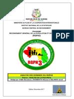 RGPH3 Rapport Pauvrete