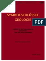 Symbolschlüssel Geologie, 7. Auflage (2015)