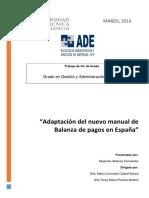 -ATIÉNZAR - Adaptación Del Nuevo Manual de Balanza de Pagos en La Unión Europea