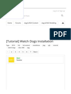 Tutorial] Watch Dogs Installation _ XPG Gaming Community