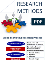 Research and Survey Methods Part 1