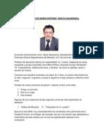 Biografia de Mario Antonio Amaya Salamanca