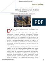 Bombardement US d'Abou Kamal, Par Bachar Ja'Afari
