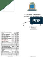 Kyambogo University Fees Structure 2017-2018