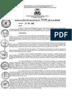 Escala Remunerativa MPMN - 2015 Proyectos y Fichas