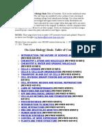 Online Biology Book