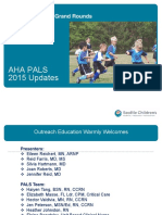 PALS 2015 Update - Nursing Grand Rounds - PPT