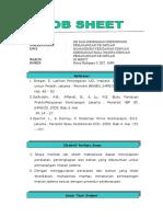 Job Sheet Implan