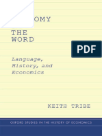 [Oxford Studies in History of Economics] Keith Tribe - The Economy of the Word_ Language, History, and Economics (2015, Oxford University Press).pdf