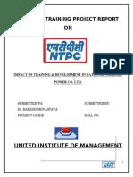 Training & Development  ntpc