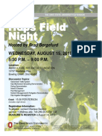 2018 Hops Field Night in Bowling Green
