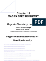 Chem 44 - Mass Spectometry