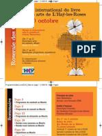 Programme Du Salon Du Livre 2010
