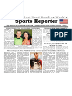 August 1 - 7, 2018  Sports Reporter