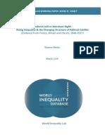 Piketty T. (2018). Brahmin Left vs Merchant Right