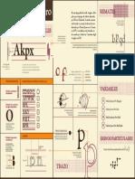 Análisis tipografía